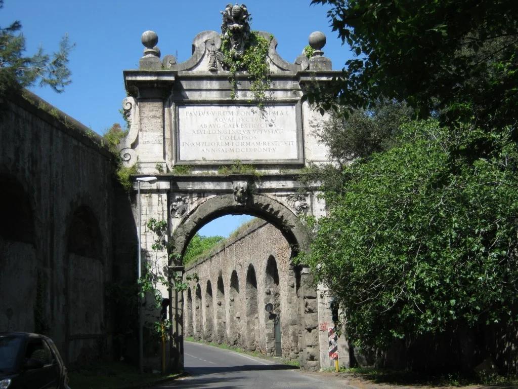 Quartiere Monteverde a Roma