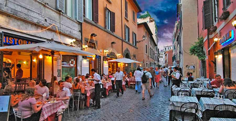 Trastevere a Roma